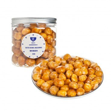 EAT BETTER Salted Caramel Macadamias 300G
