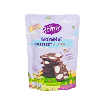 B CRISPY Brownie riceberry Almond 30G