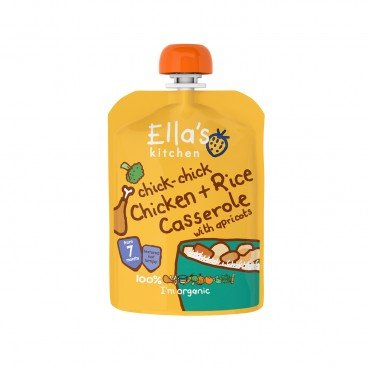ELLA'S KITCHEN - Chick chick Chicken Casserole With Rice - 130G