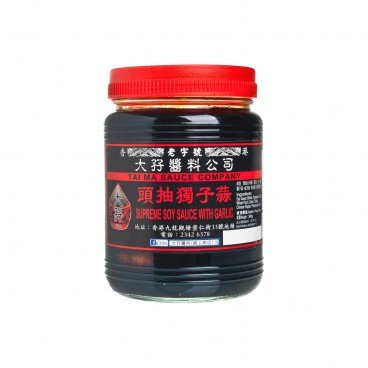 TAI MA Supreme Soy Sauce For Garlic 340G