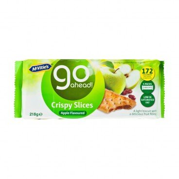 MCVITIE'S - Go Ahead apple Flavor - 218G