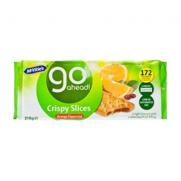 MCVITIE'S Go Ahead orange Flavor 218G
