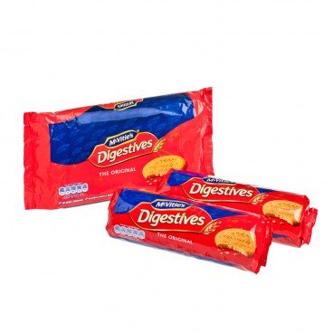 DIGESTIVE BISCUITS TWIN PACK