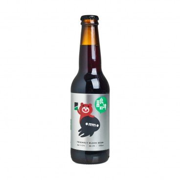 THE BREW COMMONS Friendly Black Bear 330ML