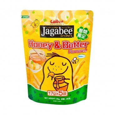 JAGABEE POTATO CHIPS-HONEY & BUTTER