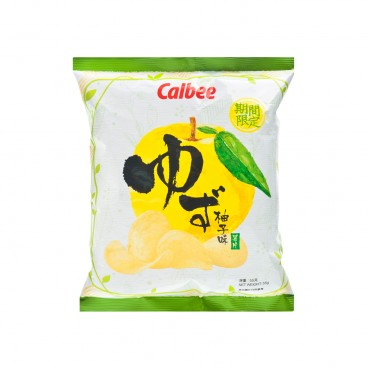 CALBEE Potato Chips yuzu Flavoured 55G