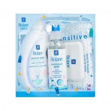 BIOLANE - Antibacterial And Hypoallergenic Cleaning Kit - SET
