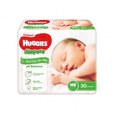 HUGGIES好奇 - Diamond Diaper Nb - 30'S