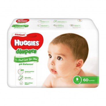 HUGGIES - Diamond Diaper S - 60'S