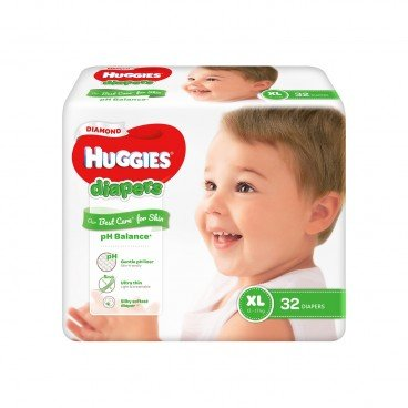 HUGGIES - Diamond Diaper Xl - 32'S