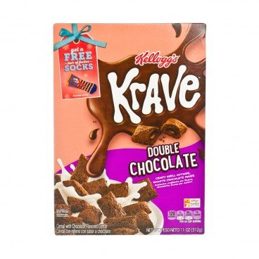KELLOGG'S(PARALLEL IMPORT) - Krave Double Chocolate - 312G