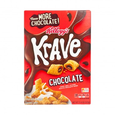 KELLOGG'S(PARALLEL IMPORT) - Krave Chocolate - 323G