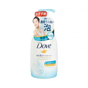 DOVE - Airy Moisture Body Foam Wash - 450G