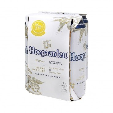 HOEGAARDEN - Witbier King Cans - 500MLX4