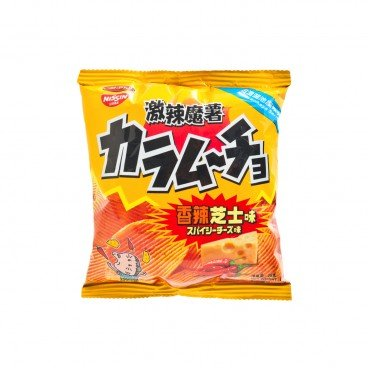 NISSIN Hot Chili Cheese Potato Chips 25G