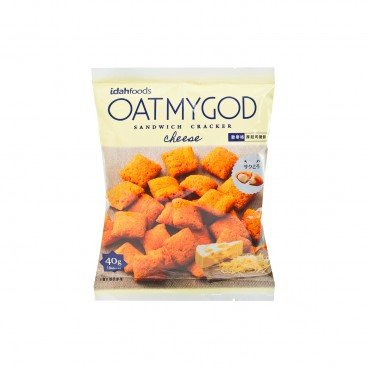 OATMYGOD - Crackers double Cheese - 40G