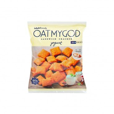 OATMYGOD - Crackers yogurt - 40G