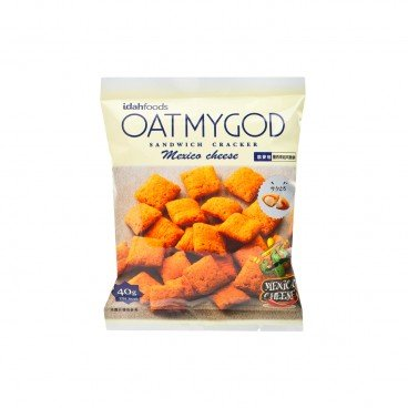 OATMYGOD Crackers cheese 40G