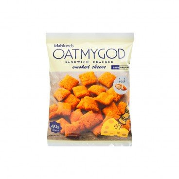 OATMYGOD - Crackers smoked Cheese - 40G