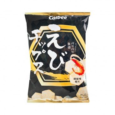 CALBEE Prawn Chip pepper Flavoured 75G