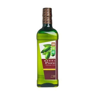 LION & GLOBE - Pure Olive Oil - 1L