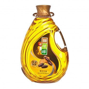 LION & GLOBE - Black Peanut Oil - 5L