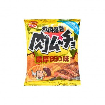 NISSIN Bbq Potato Chips 25G