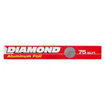 "DIAMOND Aluminum Foil 12""X75FT"