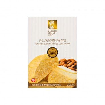 GOLDEN STATUE Almond Flavored Steamed Cake Premix 250G