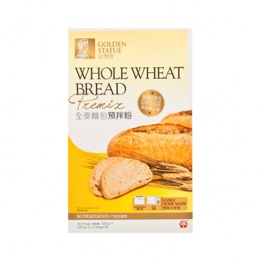 GOLDEN STATUE - Whole Wheat Bread Premix - 500G