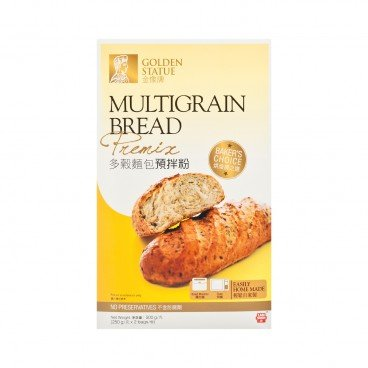 GOLDEN STATUE Multi Grains Bread Premix 500G