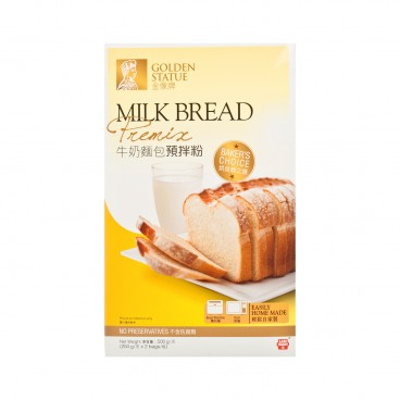GOLDEN STATUE - Milk Bread Premix - 500G