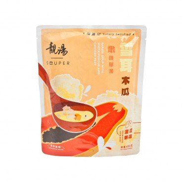 SOUPER White Fungus Papaya Chicken Feet Soup 400G