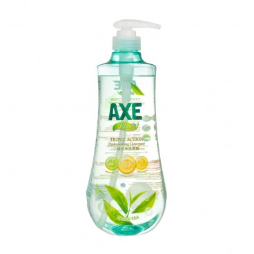 AXE Plus Triple action Dishwashing Detergent Green Tea 1KG