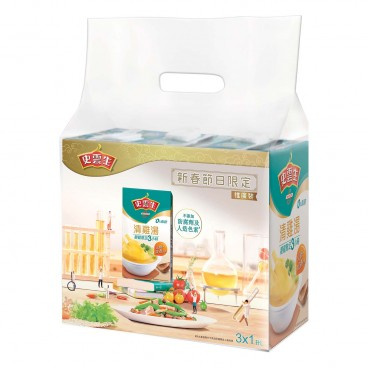 SWANSON - Clear Chicken Broth Special Tetra Pack - 1LX3