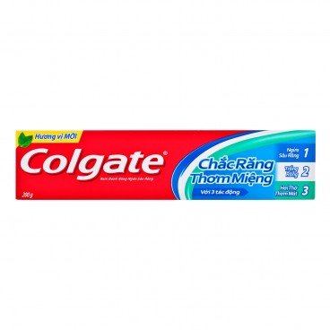 COLGATE - Strong Teeth Fresh Breath Toothpaste - 200G