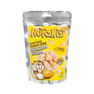 NUTCHIES - Cashews golden Corn - 100G