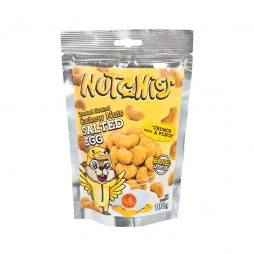 NUTCHIES Cashews salted Egg 100G