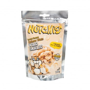 NUTCHIES Cashews wild Garlic 100G