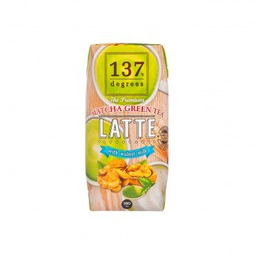 137 DEGREES Walnut Milk matcha Green Tea 180ML