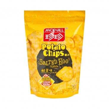 JACK'N JILL Potato Chips salted Egg Flavored 50G