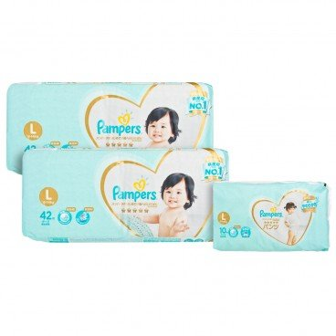 PAMPERS幫寶適 - Ichiban Large Twins Pack - 42'SX2