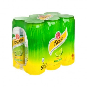 SCHWEPPES(PARALLEL IMPORT) - Thai Limited Sparkling Manao Soda - 330MLX6