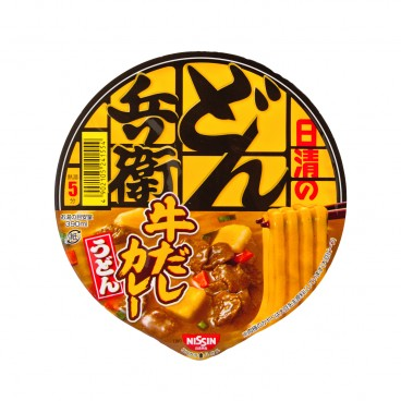 NISSIN - Bowl Udon donbei Curry - 87G