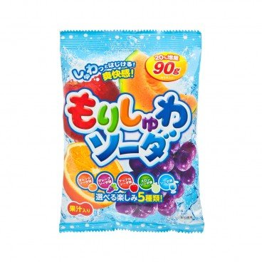 RIBON Assorted Fruit Candy 90G