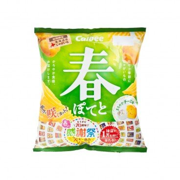 CALBEE Potato Chips spring Series cheese Flavor 65G
