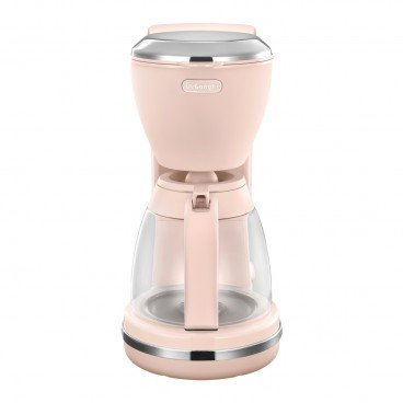 DE'LONGHI Argento Flora Series Drip Coffee Maker peony Rose PC
