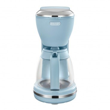 DE'LONGHI Argento Flora Series Drip Coffee Maker agave Blue PC
