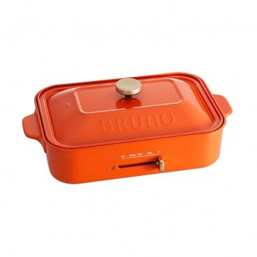 BRUNO Compact Hot Plates retro Orange PC