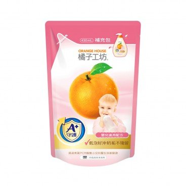ORANGE HOUSE Feeding Bottle Cleanser refill 430ML